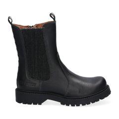 Zwarte Chelsea Boots met rits