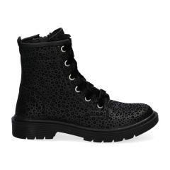 Braqeez Babette Boot - 419773 - Zwart Panter