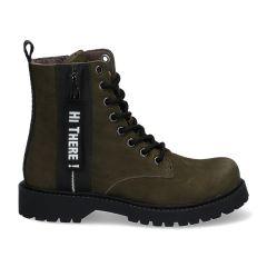 Braqeez Belle Boot - 420771 - Leger Groen