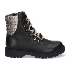 Braqeez Becky Boot - 420772 - Zwart/Snake