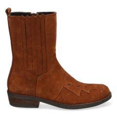 Klassieke cowboy laarzen van suède