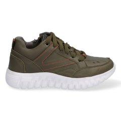 Finn Faro - 421930-569 - Groene Lage sneakers voor Jongens