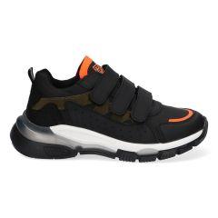 Glenn Genna - 421971-589 - Zwart-Groen Lage sneakers voor Jongens
