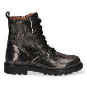 Braqeez Becky Boot - 419772 - Zwart Zilver